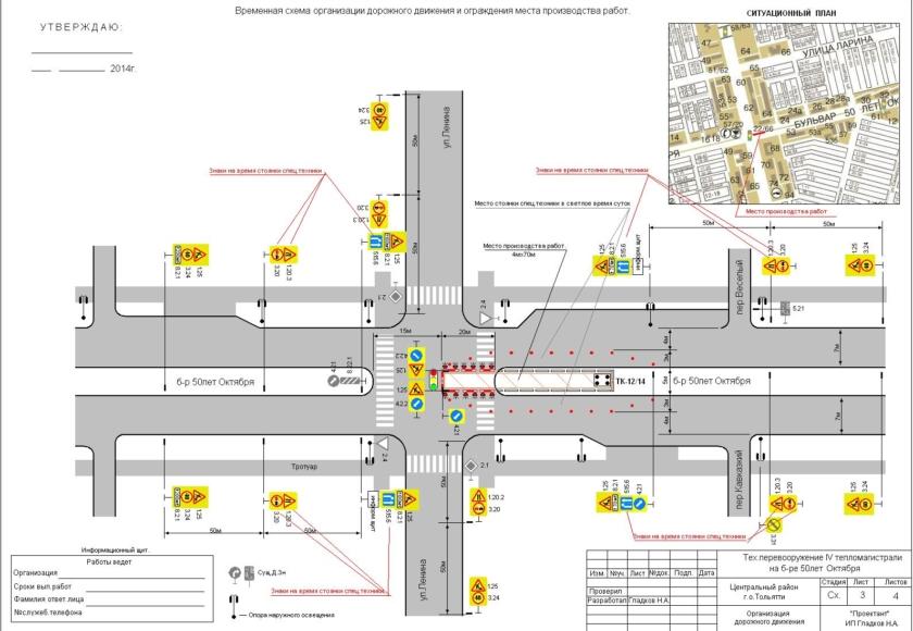 Одм схемы организации дорожного движения